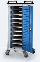 Nabíjecí vozík pro tablety / notebooky - 10 zařízení