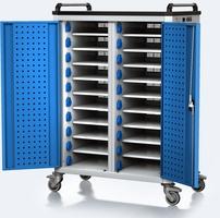 Nabíjecí vozík pro tablety / notebooky - 20 zařízení