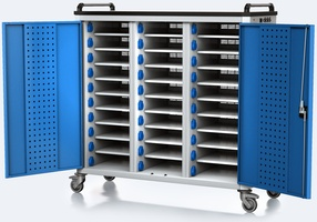Nabíjecí vozík pro tablety / notebooky - 30 zařízení