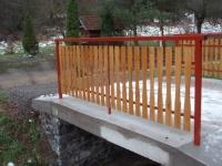 Zábradlí - ocel-dřevo MM700120