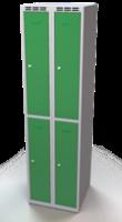 Zesílené šatní boxy - dvouplášťové dveře R3M 25 2 2 A