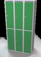 Zesílené šatní boxy - dvouplášťové dveře R3M 30 3 2 A