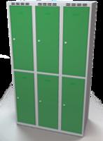 Zesílené šatní boxy - dvouplášťové dveře R3M 35 3 2 A