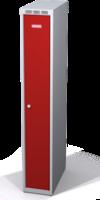 Zesílené šatní skříňky snížené s dvouplášťovými dveřmi R3M 25 1 1 S V15