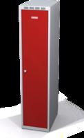 Zesílené šatní skříňky snížené s dvouplášťovými dveřmi R3M 35 1 1 S V15