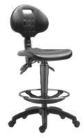 Průmyslové židle 1290 PU ASYN 5050