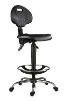 Průmyslové židle 1290 PU ASYN 5150