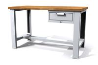 Dílenský stůl základní - šířka 1500 mm, stavitelné nohy