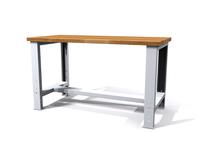 Základní pracovní stůl - šířka 1500 mm - výškově stavitelné nohy
