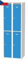 Šatní boxy - dvouplášťové dveře AM 30 2 2 A AK