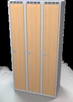 Šatní skříň - lamino dveře AM 30 3 1 S DD