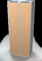 Šatní skříň - lamino dveře AM 35 2 1 S DD