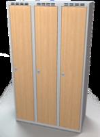 Šatní skříň - lamino dveře AM 35 3 1 S DD