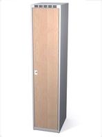 Šatní skříň - lamino dveře AM 40 1 1 S DD