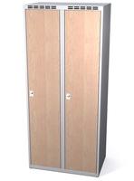 Šatní skříň - lamino dveře AM 40 2 1 S DD