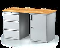 Profesionální pracovní stůl s kontejnery