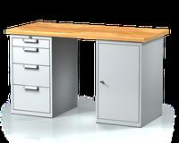 Dílenský pracovní stůl oboustranný