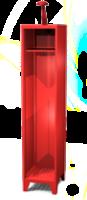 Šatní skříň pro hasiče HF 40 1 A