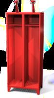 Šatní skříň A pro hasiče a záchranné složky HF 40 2 A