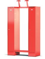 Šatní skříň pro hasiče - sestava KH 1 60 1