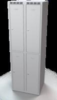 Šatní boxy - jednoplášťové dveře L1M 30 2 2 A