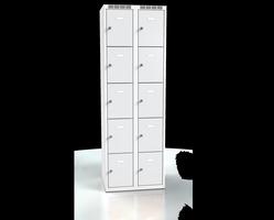 Skříň s boxy - jednoplášťové dveře L2M 30 2 5 O