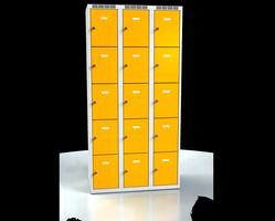 Skříň s boxy - jednoplášťové dveře L2M 30 3 5 O