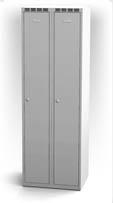Šatní skříňka - jednoplášťové dveře, šířka / počet oddělení: 300 mm / 2