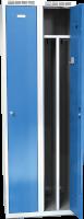 Šatní skříňka Alsin - jednoplášťové dveře, šířka / počet oddělení: 400 mm / 2