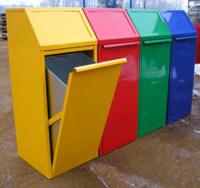 Odpadkový koš - ocel MM700157