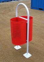 Odpadkový koš - ocel MM700166