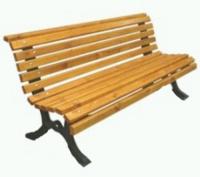 Parková lavička - litina-dřevo MM700213