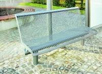 Parková lavička - ocel MM700223