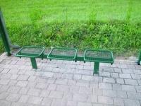 Parková lavička - ocel MM700224