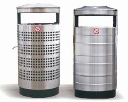 Odpadkový koš - nerez MM700387