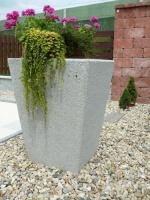 Květináč - beton MM800018