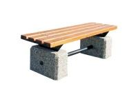 Parková lavička - beton-dřevo MM800288