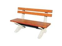 Parková lavička - beton-dřevo MM800289