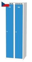 Šatní skříňky - dvouplášťové dveře AM 30 2 1 S AK