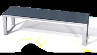 Lavice šatnová - lamino deska SLF 150 A S