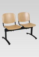 Dřevěná lavice do čekárny SN100278
