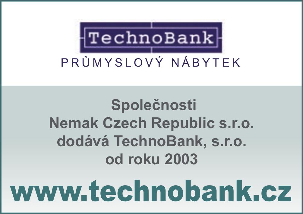 Spolupráce Nemak Czech Republic, s.r.o. a TechnoBank, s.r.o.