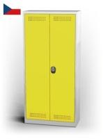 Skříň na chemikálie - křídlové dveře