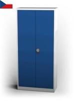 Dílenská skříň na spisy - křídlové dveře